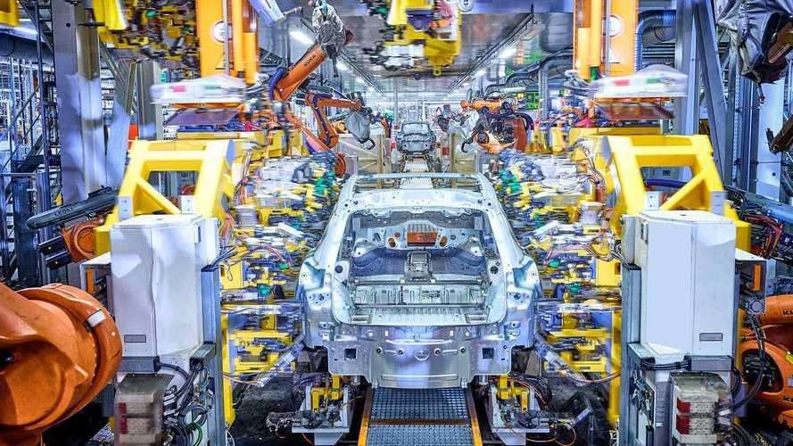Audi Q4 e-tron Üretiminden Görüntüler