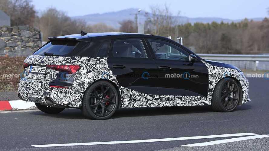 Nuova Audi RS 3 Sportback e Sedan, le foto spia