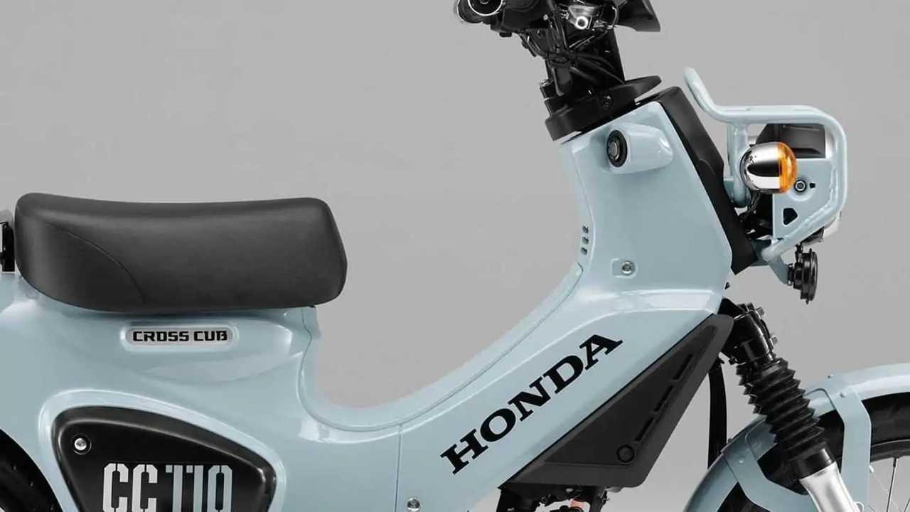 Honda Cross Cub 110 Limited Edition.