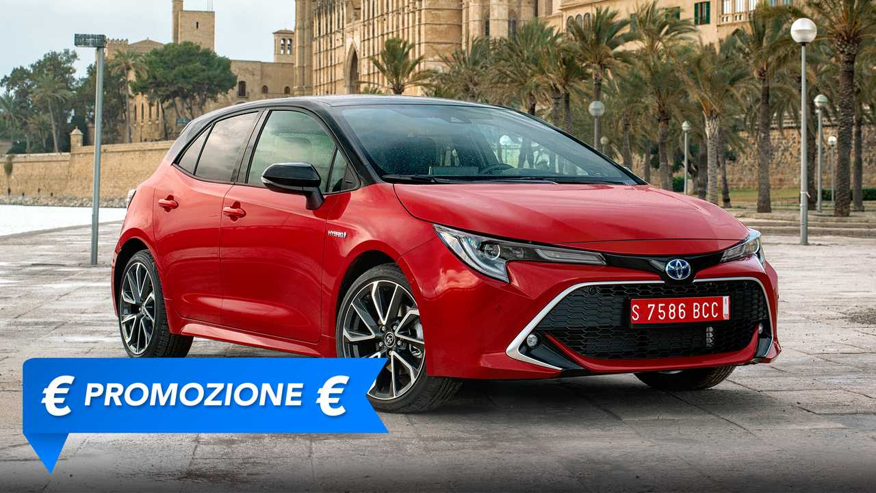 Toyota Corolla Hybrid, promozione maggio 2021