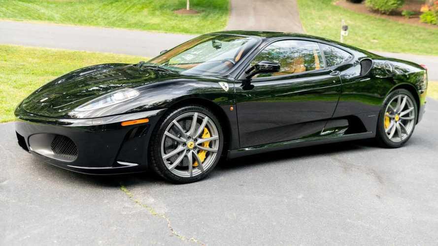 Ezen a Ferrari F430-on nem fogott az idő vasfoga