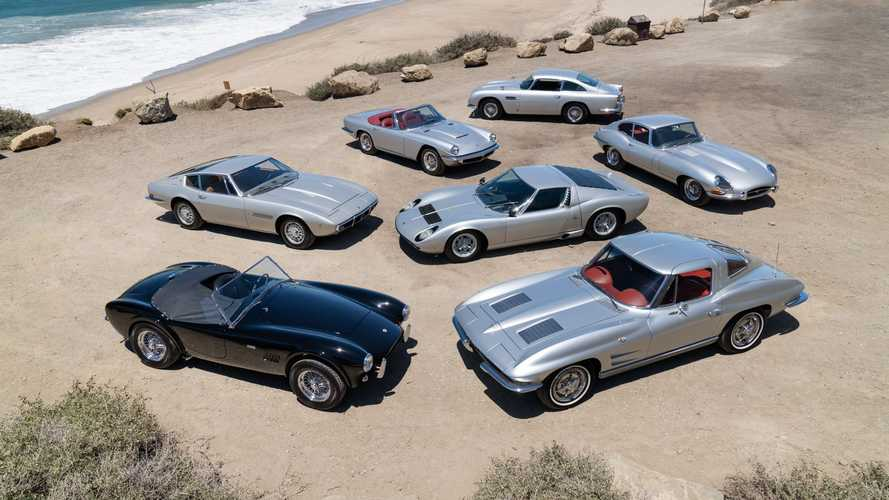 Neil Peart Silver Surfer Car Collection