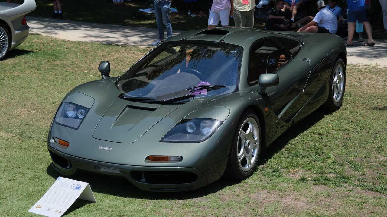 1995 McLaren F1 At Amelia Island Concours d'Elegance