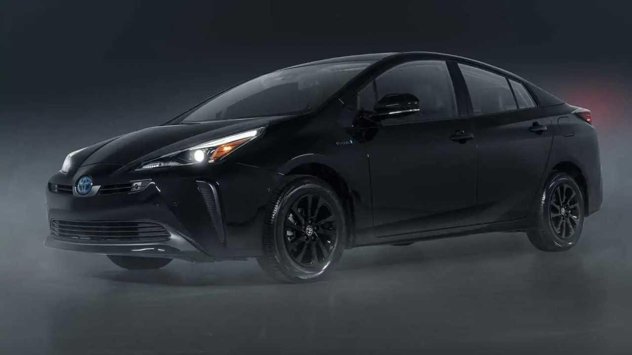 2022 Toyota Prius Nightshade Special Edition Front Három negyedév