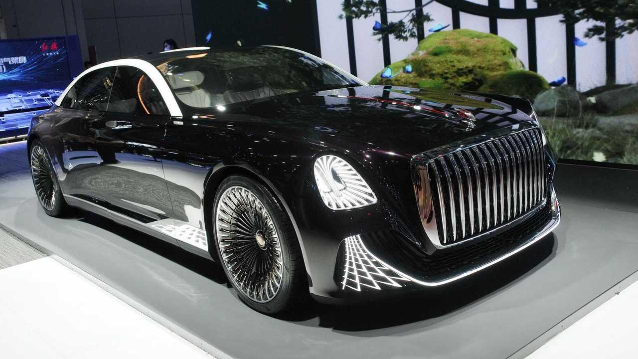Hongqi L-Concept at Auto Shanghai 2021