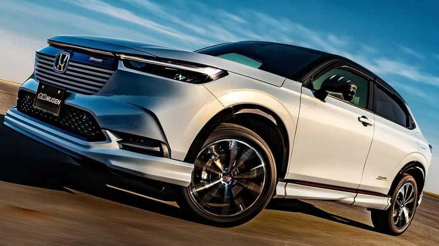 Honda HR-V, la vorreste più sportiva? Eccola modificata da Mugen