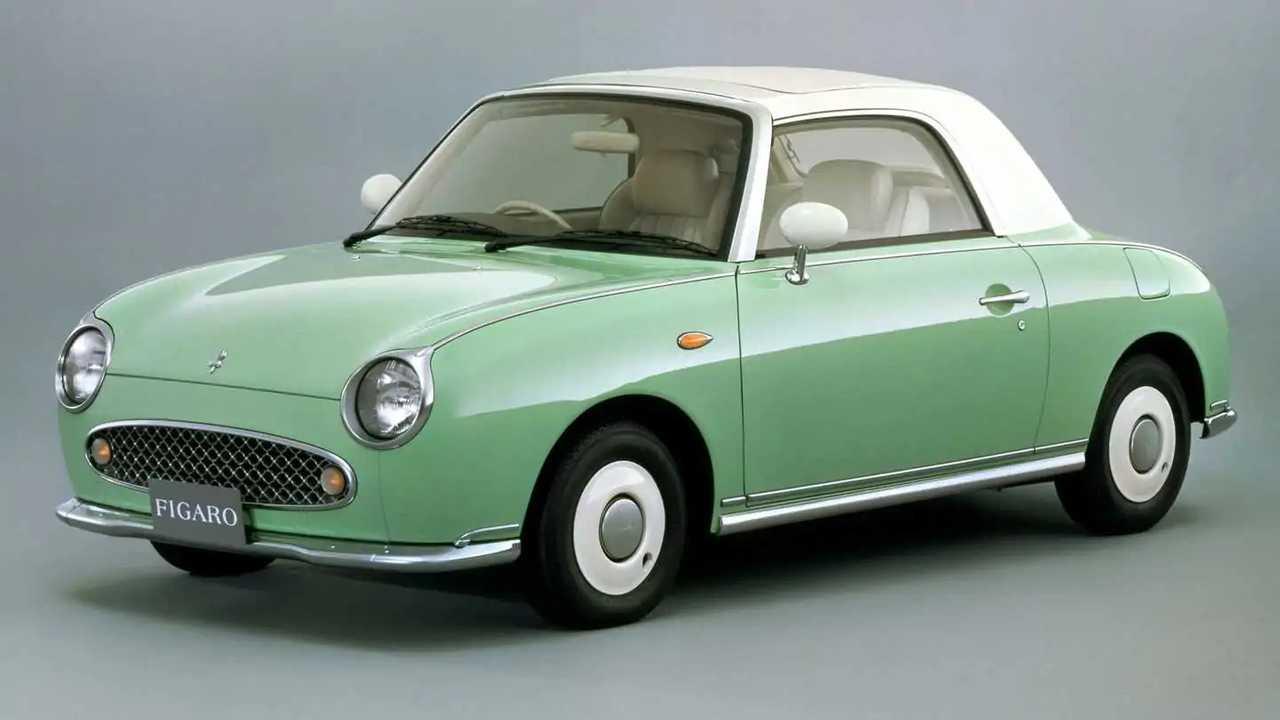 Der Nissan Figaro wurde offiziell nur in Japan verkauft