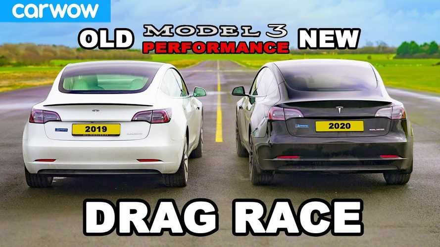 Is New 2021 Tesla Model 3 Performance Slower Than Older 2019 MY?