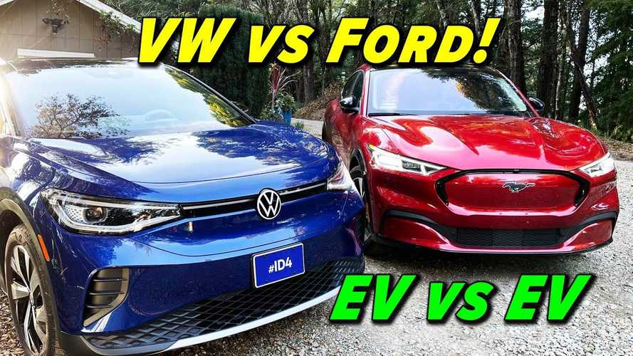 Ford Mustang Mach-E Vs VW ID.4: Alex On Autos' Electric SUV Battle