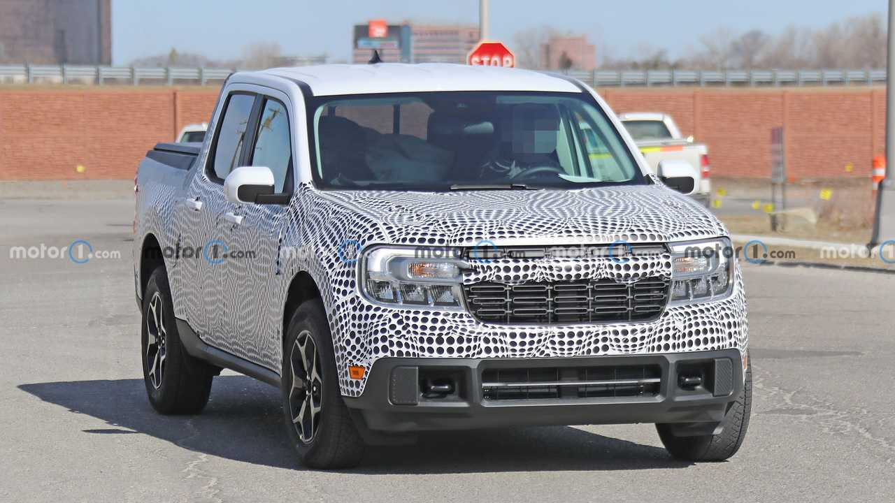 Picape Ford Maverick - Novo flagra