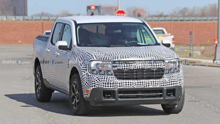 Picape Ford Maverick seguirá padrão da F-150 e terá diferentes estilos de grade