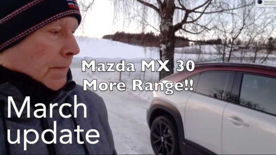 Mazda MX-30 Update Provides Car With 50 Percent More Range