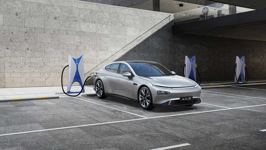 Xpeng charging infrastructure