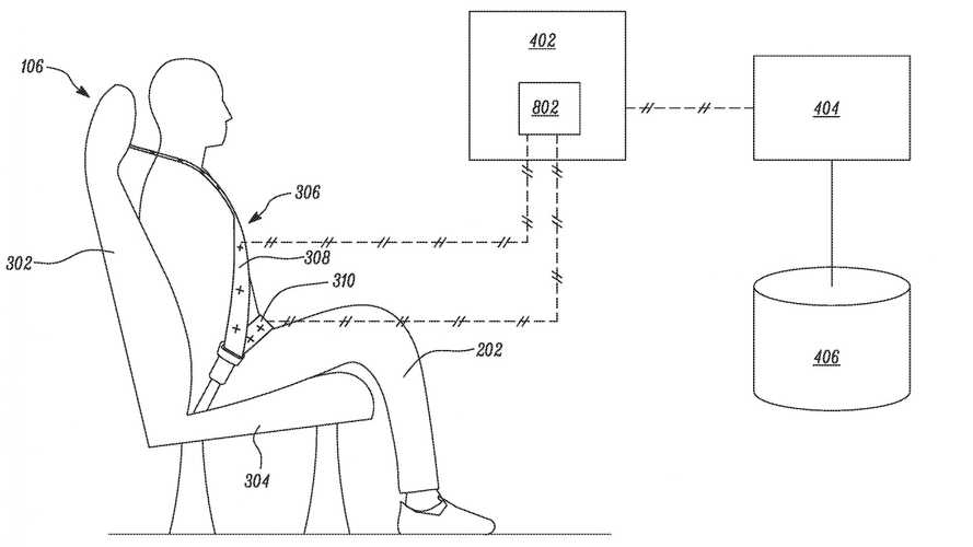 Tesla Patents Improper Seatbelt Usage Detection System
