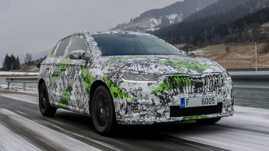 New Skoda Fabia reveal confirmed for May, estate coming in 2023