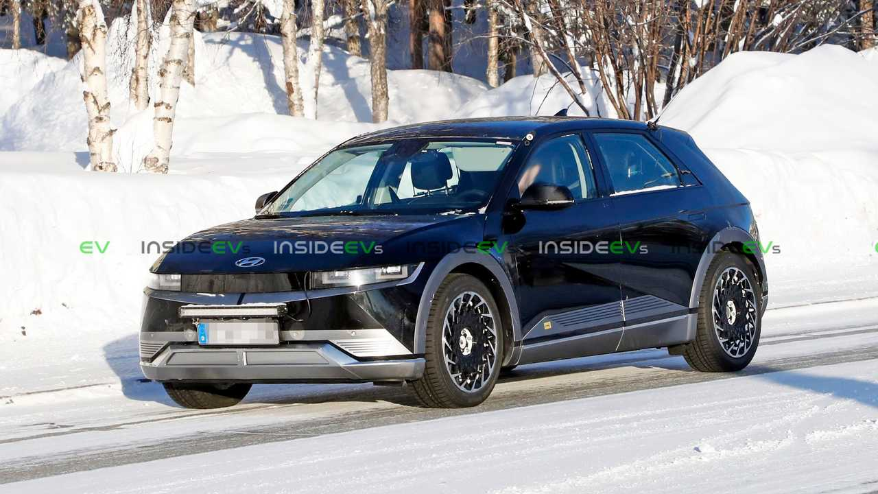 Hyundai Ioniq 5 spied without camouflage