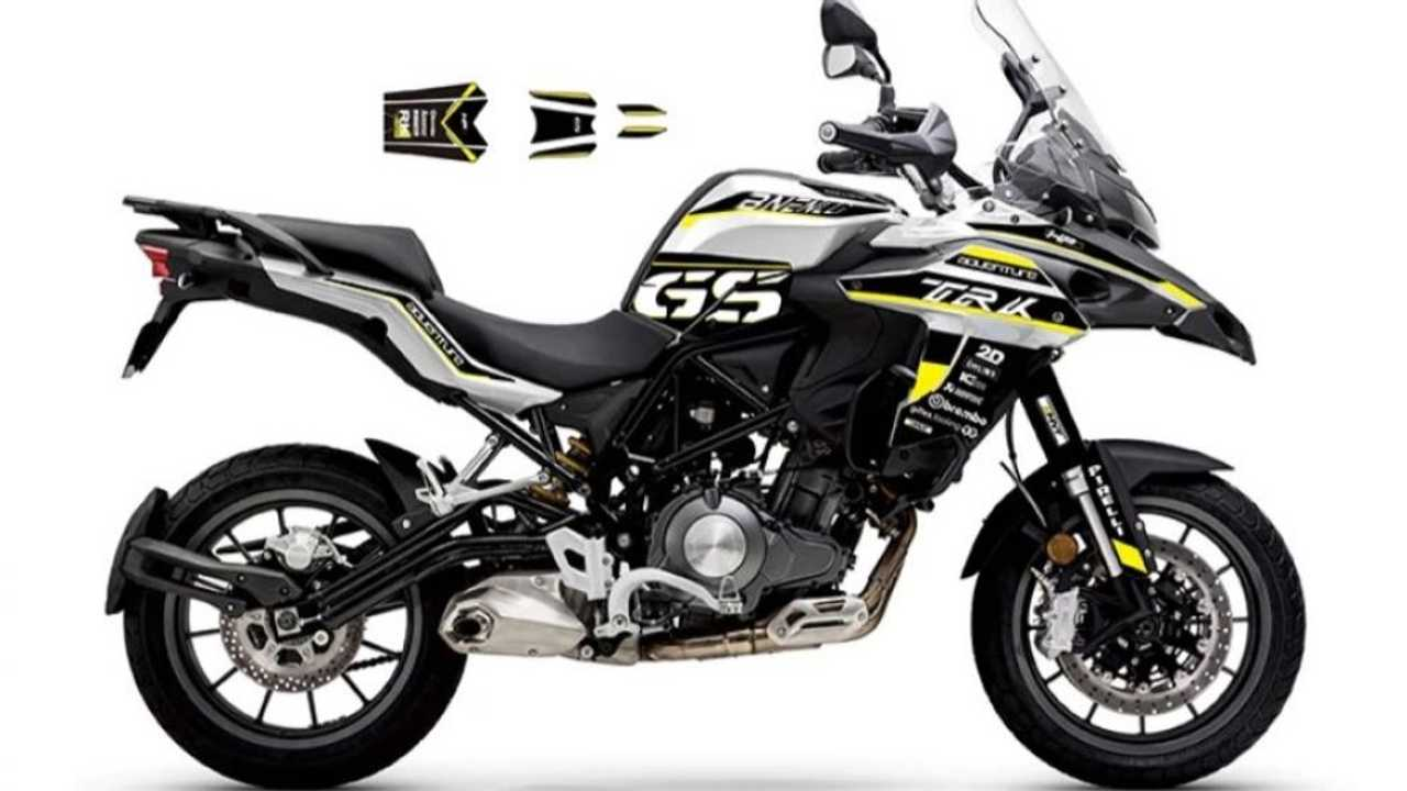 This Sticker Kit Will Turn Your Benelli TRK 502 Into A BMW GS
