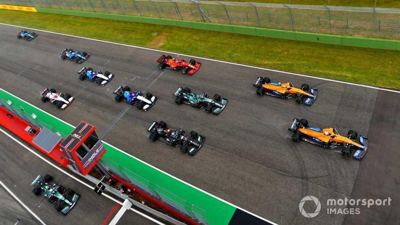 Emilia Romagna GP 2021 starting grid