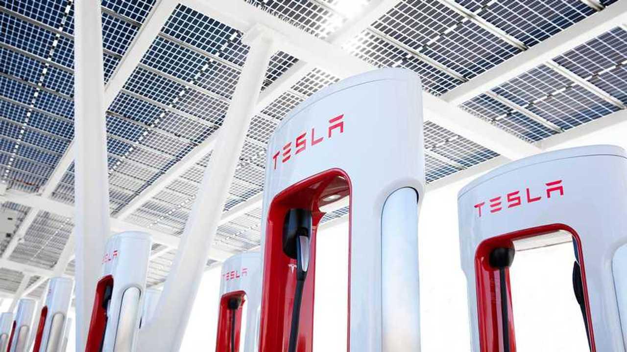 Tesla Supercharging infrastructure
