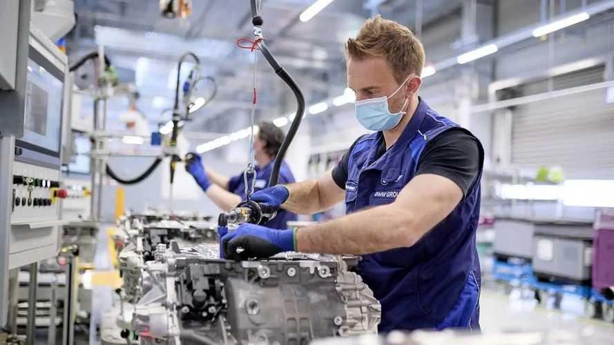 BMW - produção de motores elétricos