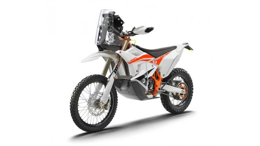 KTM Announces Limited-Edition 2022 450 Rally Replica