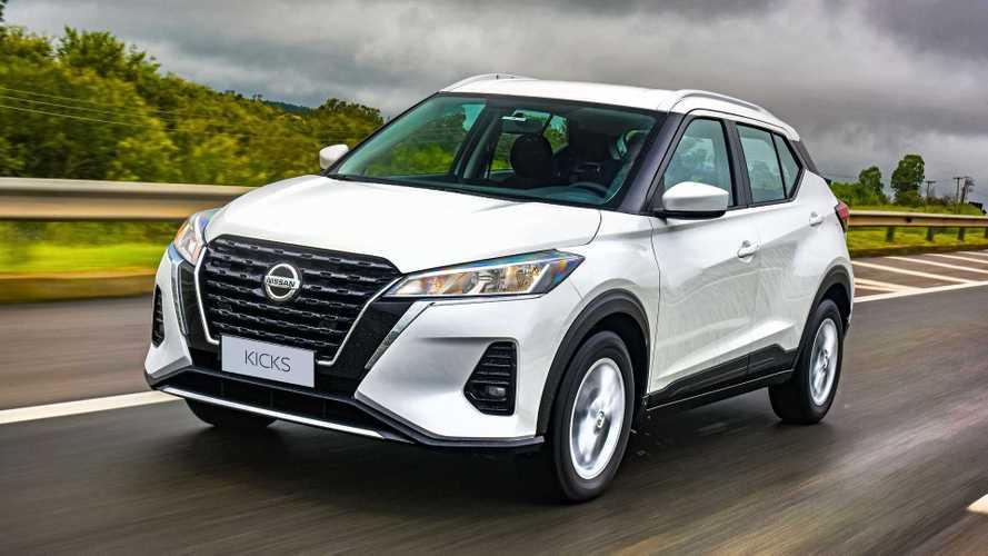 Nissan Kicks 2022 fica até R$ 2.500 mais caro após novo reajuste