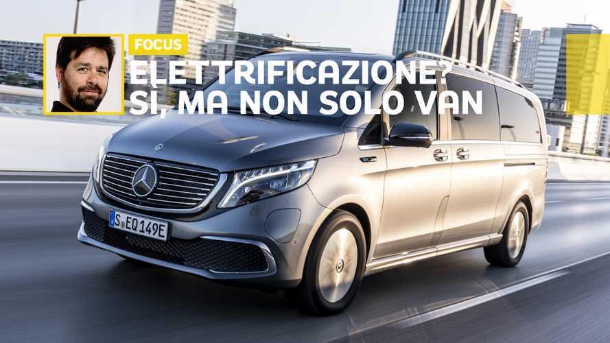 "Van elettrici, la ""versione"" di Mercedes-Benz"