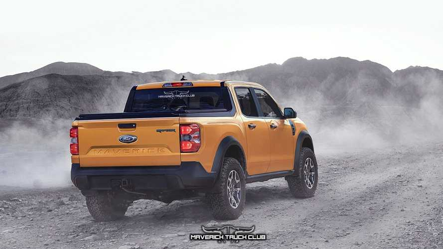 Ford Maverick Raptor Rendering
