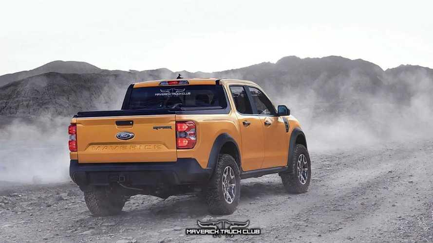 Ford Maverick Raptor - Projeção