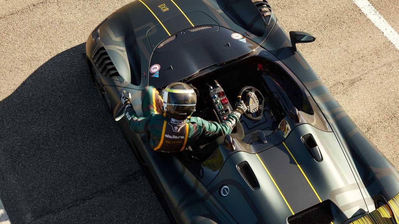 Трек-кар Dallara EXP