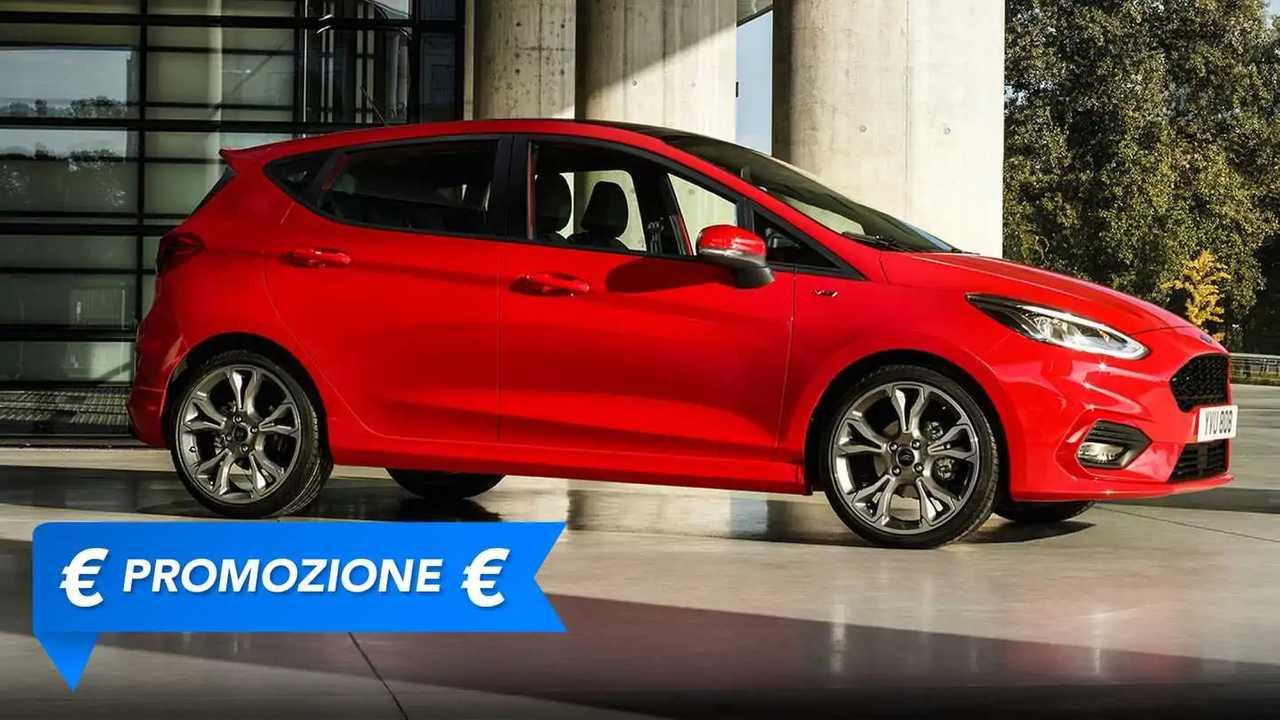 Promozione Ford Fiesta benzina, perché conviene e perché no