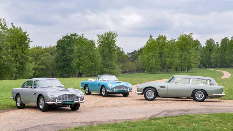 Un impresionante trío de Aston Martin DB5 Vantage, a la venta