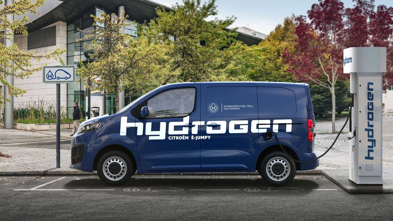 Citroën ë-Jumpy a hidrogênio