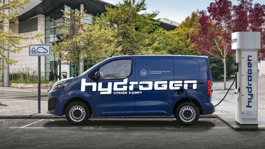 Citroën Jumpy ganha versão a hidrogênio com 400 km de autonomia
