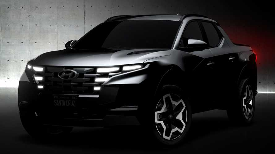 Hyundai Santa Cruz (2022): Kompakter Pickup offiziell angeteasert