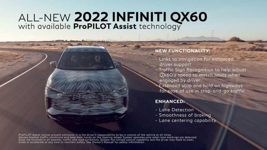 Infiniti QX60 ProPilot Teaser
