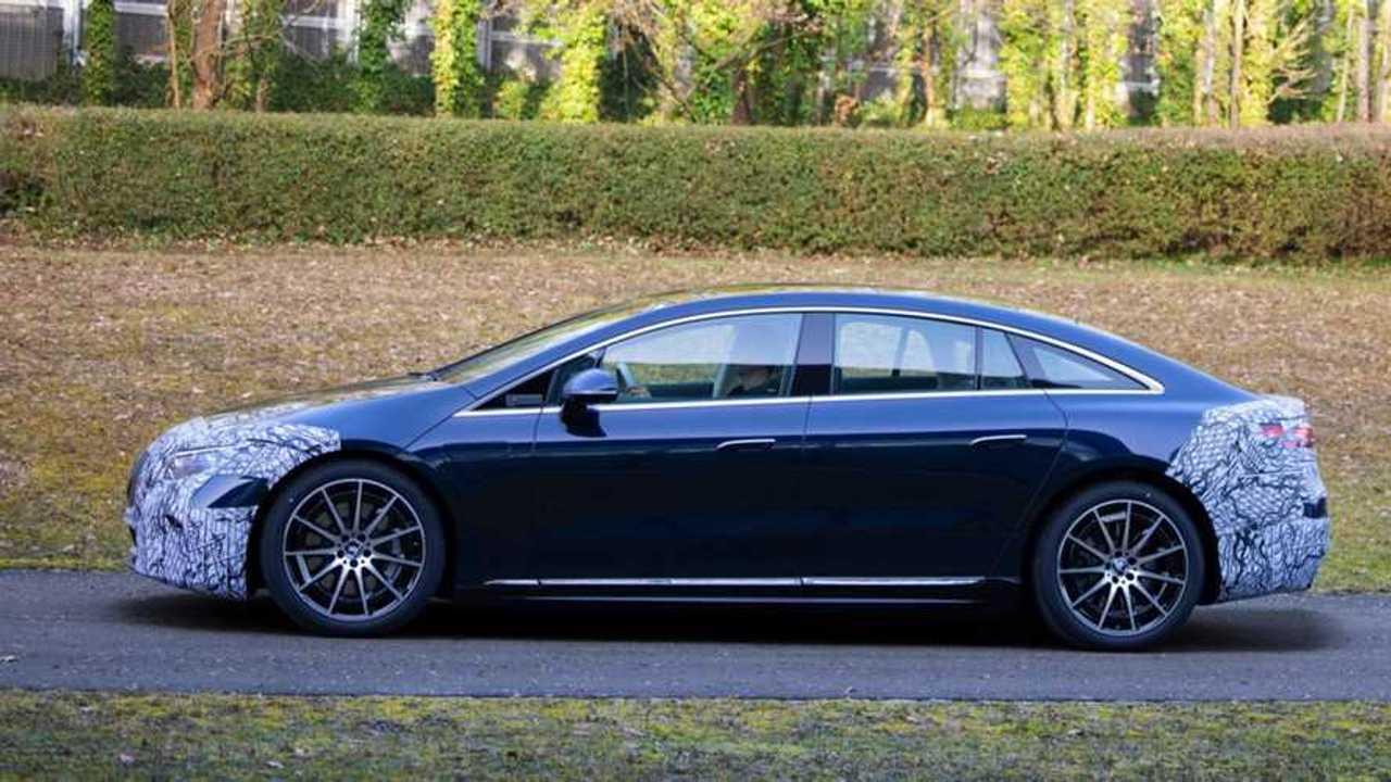 Der Mercedes EQS soll eine WLTP-Reichweite von 770 km haben