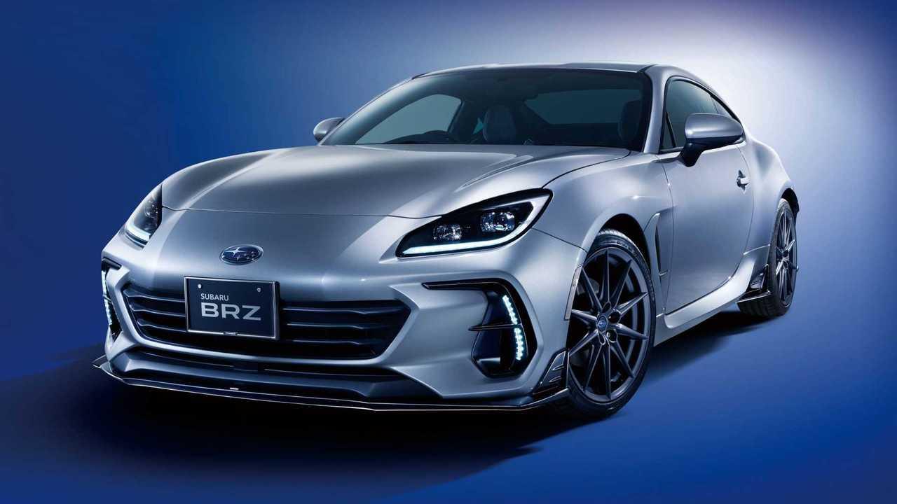 Subaru BRZ 2021 con accesorios deportivos de fábrica