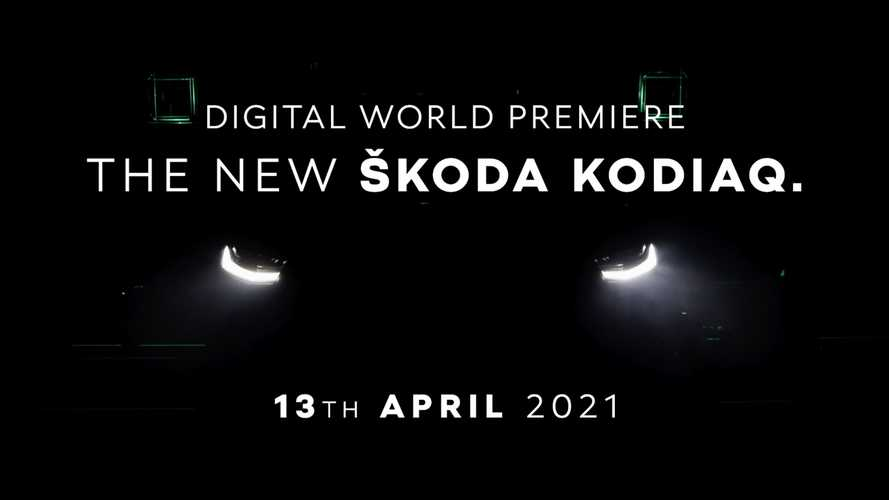 2021 Skoda Kodiaq Facelift Shows More Skin In New Teaser Video