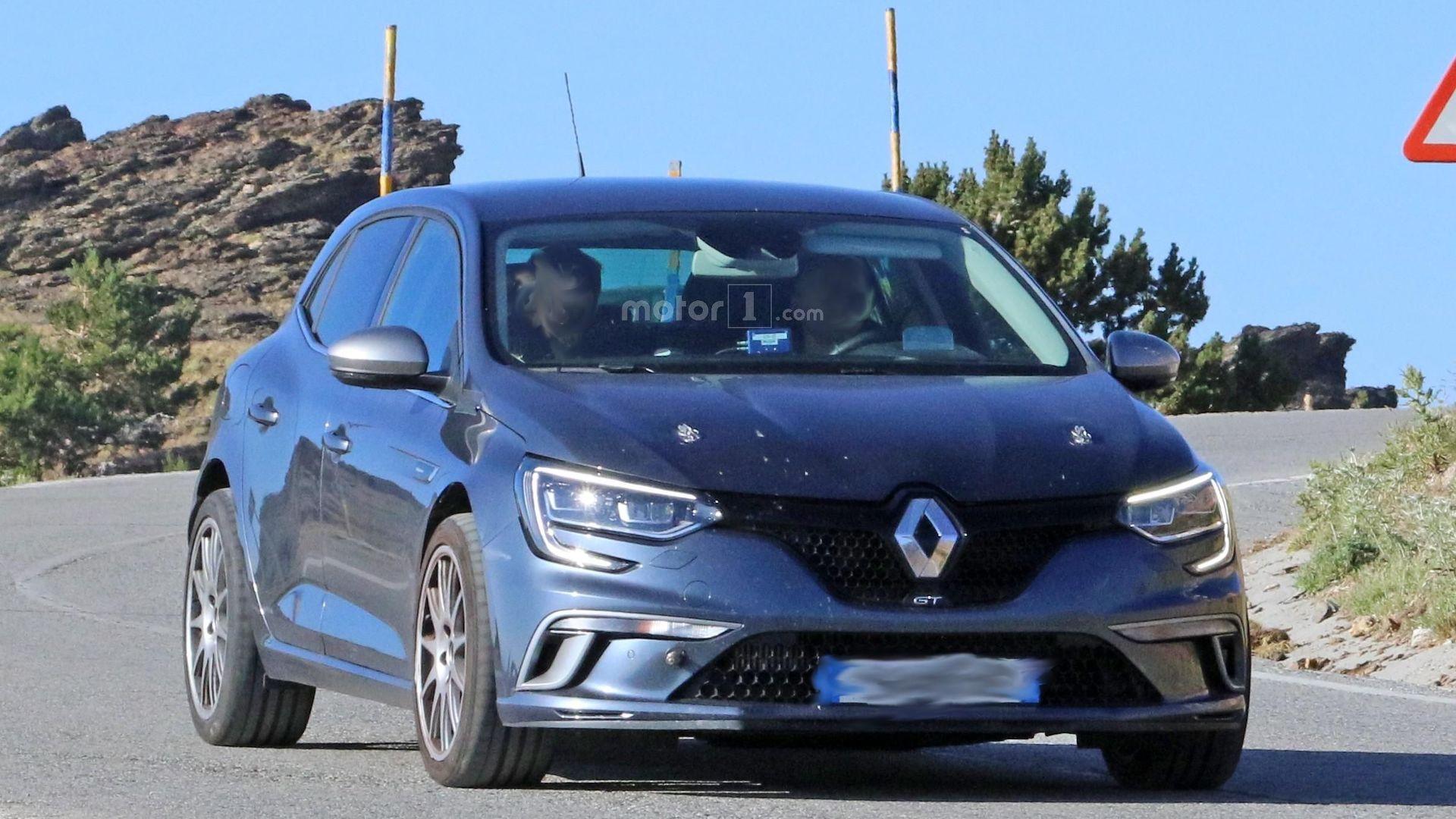 2018 Renault Megane Rs Hides Underneath Gt Skin