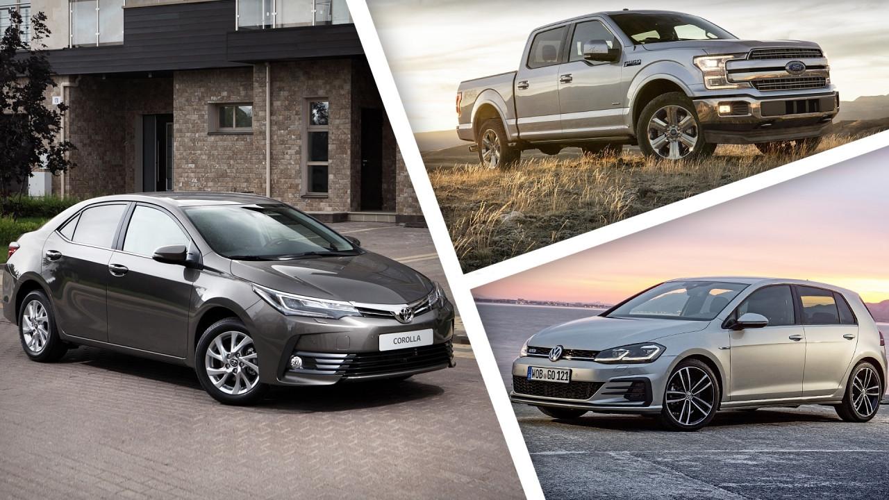 [Copertina] - Le 100 auto più vendute del 2017