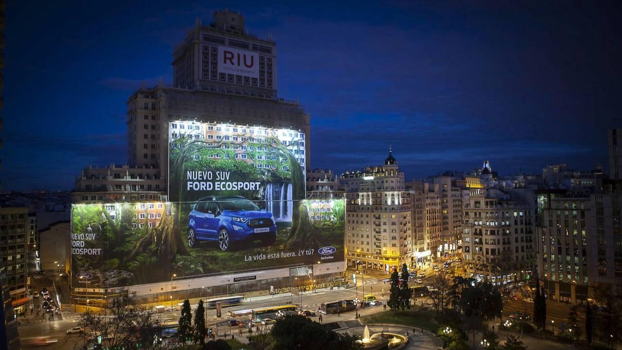 Ford plakátrekord - EcoSport