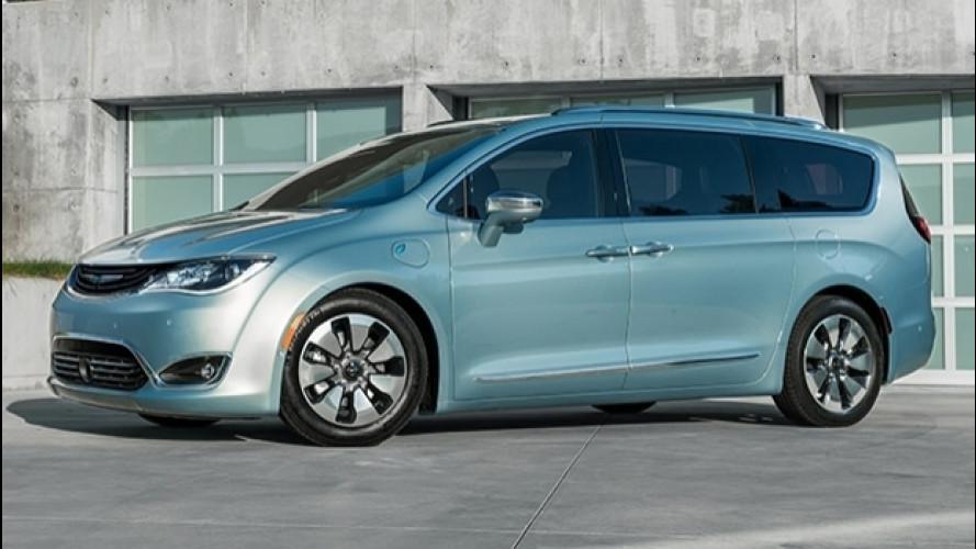 Chrysler Pacifica elettrica, concept a sorpresa al CES