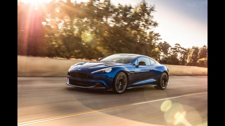 Aston Martin Vanquish S, più cavalli e nuova aerodinamica