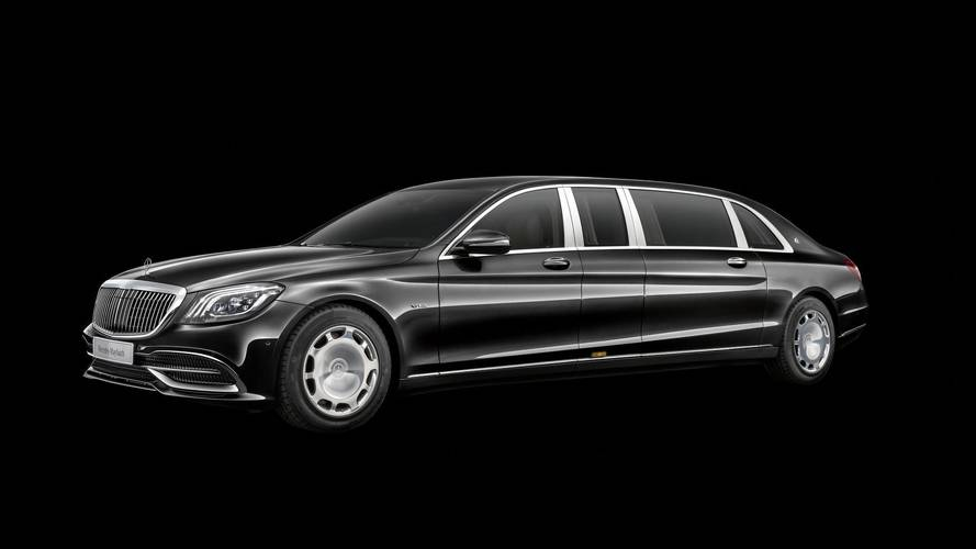 Mercedes-Maybach Pullman Gets New Grille And More V12 Power