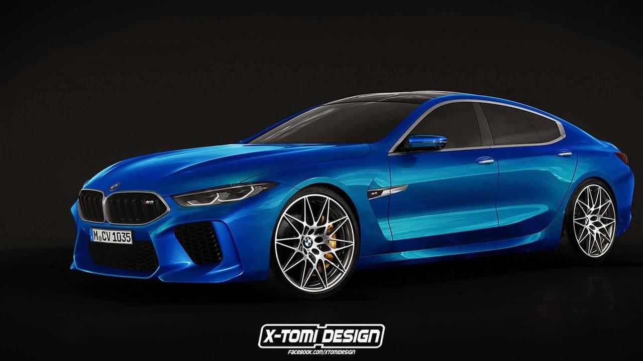BMW M8 Gran Coupe Render
