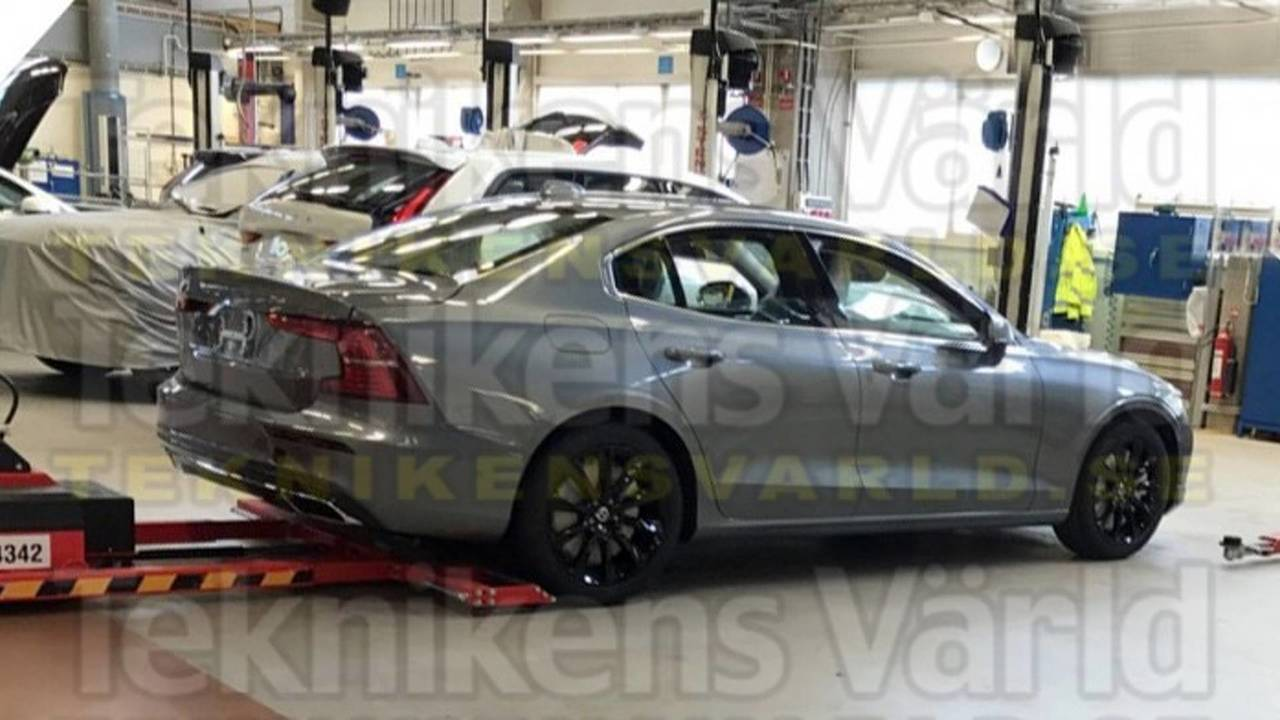 New Volvo S60 Leaked
