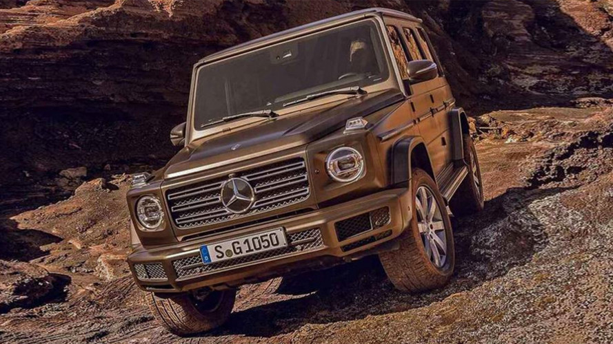 Nuova Mercedes Classe G, in rete le prime foto