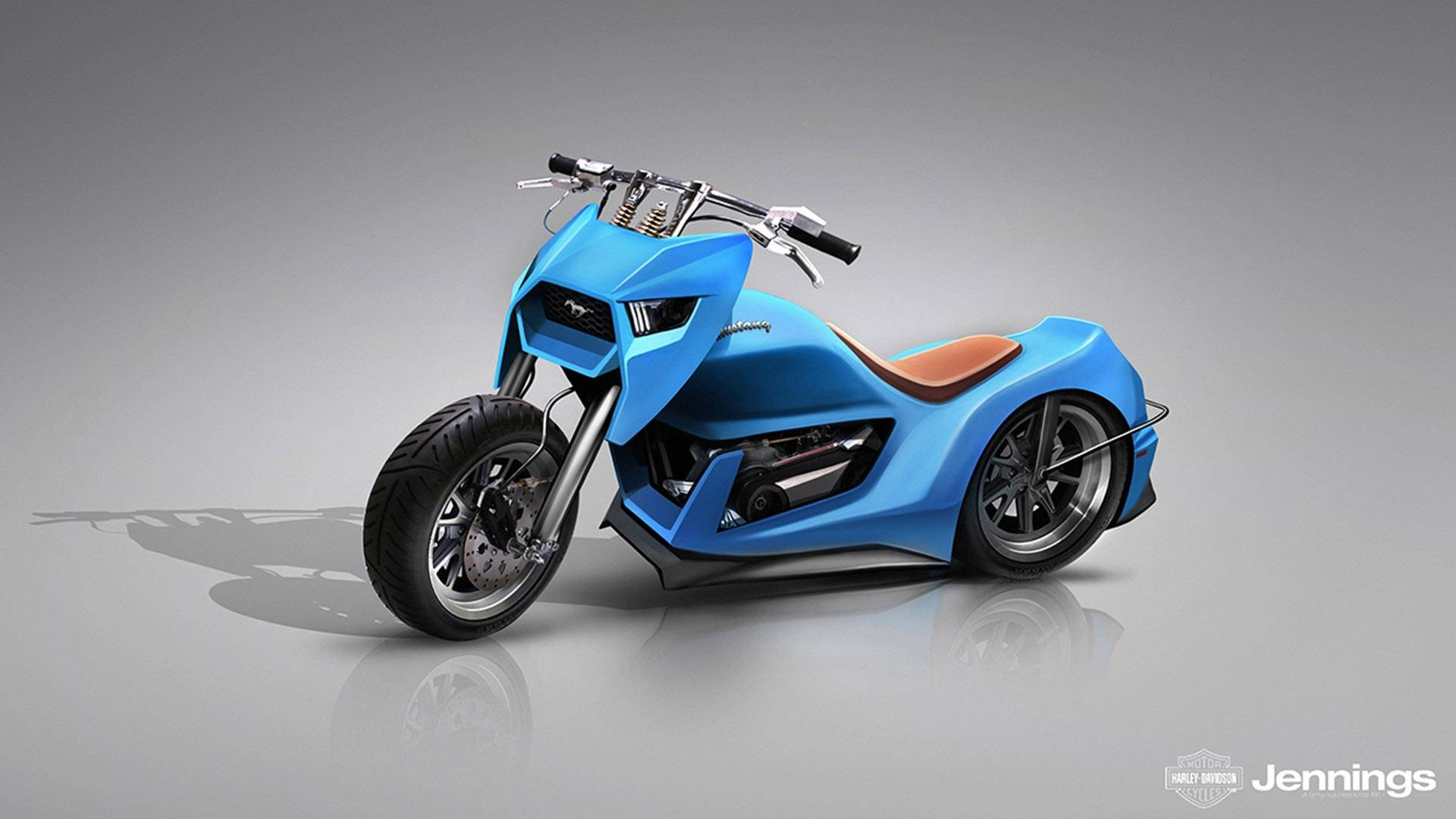 If automakers made motorcycles this is what theyd look like