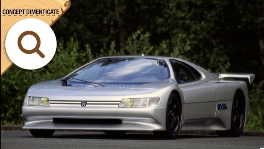 Peugeot Oxia, quella che arrivava a 350 km/h